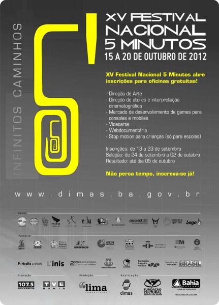 XVI Festival Nacional 5 Minutos
