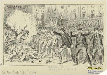 A Revolta do Astor Place, ocorreu em 10 de maio de 1849, em Nova York.